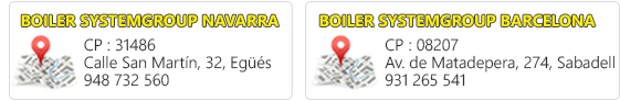 Boiler System Group en Pamplona